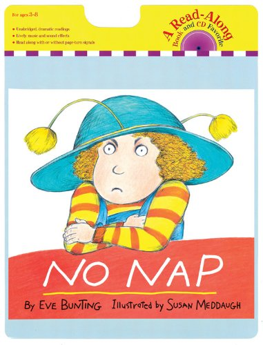 No Nap Book & Cd front-946308