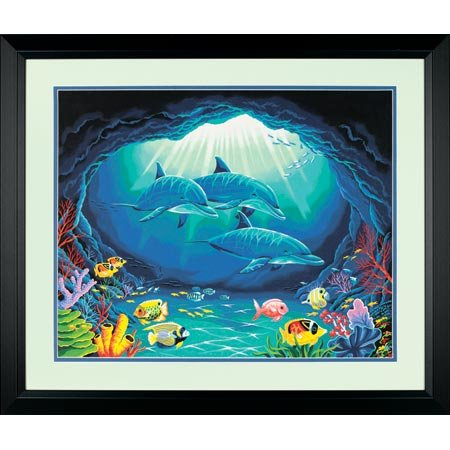 16 x 20 Deep Sea Paradise Paintworks - Buy 16 x 20 Deep Sea Paradise Paintworks - Purchase 16 x 20 Deep Sea Paradise Paintworks (Dimensions Crafts, Toys & Games,Categories,Arts & Crafts,Craft Kits)