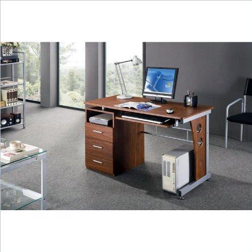 Black friday techni mobili laminate computer desk in for Mobili computer