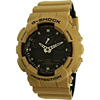 Casio G-Shock Anti-Magnetic Black Dial Men's Sports Watch (Sand Beige)
