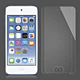 SPARIN iPod Touch Screen Protector, [2 Pack] Tempered Glass Screen Protector for Apple iPod Touch 6th, 5th Generation, [Scratch Resist] [Crystal Clear] [Bubble Free], Lifetime Warranty