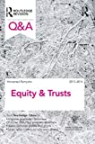Q&A Equity & Trusts 2013-2014 (Questions and Answers)