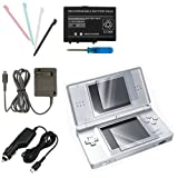eForCity 5 pcs Accessory Bundle Charger Compatible with Nintendo DS Lite