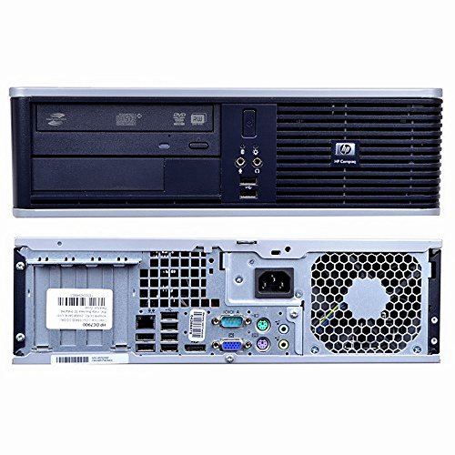 HP Compaq DC7900 SFF Desktop PC - Intel Core 2 Duo 3.0GHz 8GB 250GB Windows 7 Pro (Certified Refurbished) for hp compaq 6280 6200 pro q65 615114 001 614036 002 motherboard mainboard lag 1155 ddr3 100
