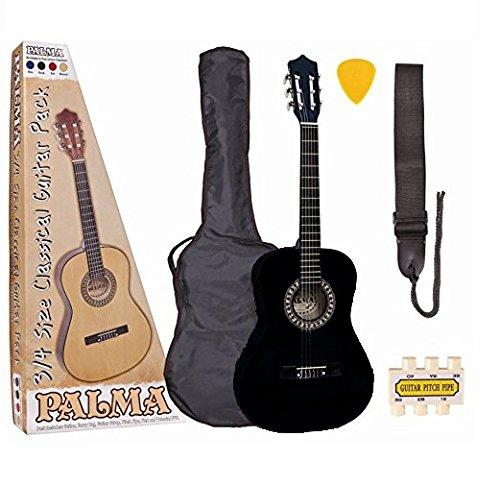Palma PL34BLOFT Konzertgitarrenset (3/4 Größe)