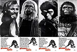 Amazon.com: Planet of the Apes Movie Poster (27 x 40 ... James Whitmore Planet Of The Apes