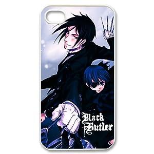 COOLEST Black Butler Apple Iphone 4S/4 Case Cover Japanese Anime Kuroshitsuji