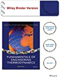 Fundamentals of Engineering Thermodynamics 8e Binder Ready Version + WileyPLUS Learning Space Registration Card
