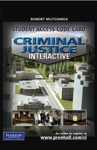 Criminal Justice Interactive -- Access Card