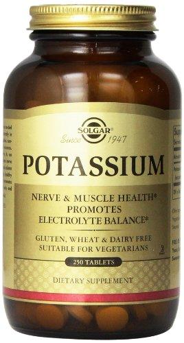 Solgar Potassium Tablets, 250 Count