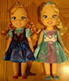 Disney Frozen Anna and Elsa Toddler Pair