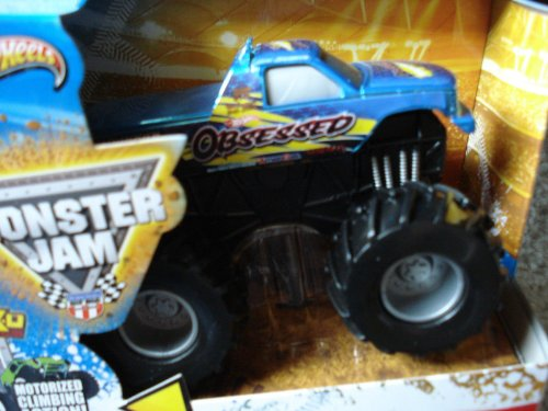 2013 Hot Wheels Monster Jam Rev Tredz OBSESSED Official Monster Truck Series 1:43 Scale