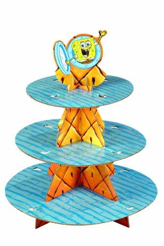 Wilton Sponge Bob Square Pants Cupcake Stand - 1