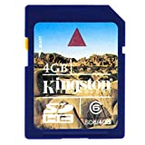 Kingston Digital, Inc. 4 GB  Flash Memory Card SD6/4GBKR