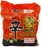 Nongshim Shin Ramyun Noodle Soup, 4.2 Ounce (Pack of 24)