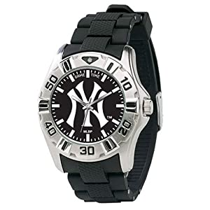 MLB Mens MM-NY3 MVP Series New York Yankees Watch by Game Time