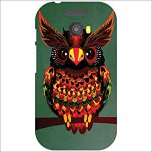 Micromax Bolt A064 Back Cover - Silicon Owled Designer Cases