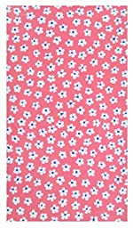 Handmade Small Flowers Cotton Guest Checks Presenters & Holders (With Plastic Cover)