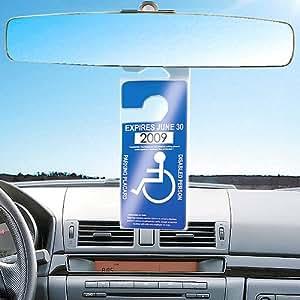 Handicap Hang Tag Sleeve