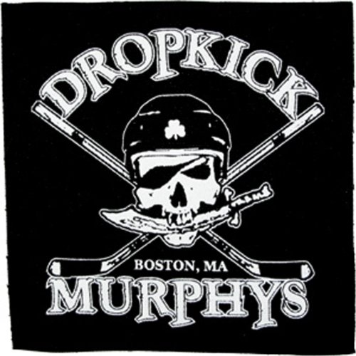 Application Dropkick Murphys Skull Canvas Patch