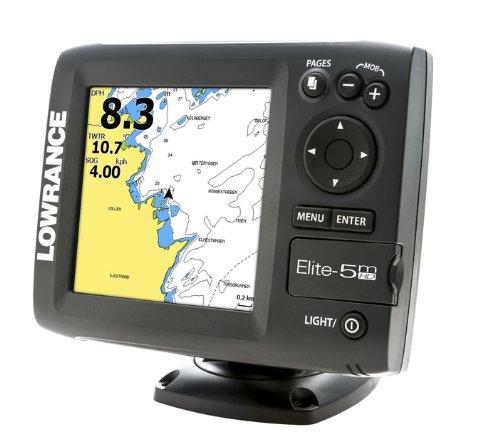 Lowrance 000-11176-001 Elite-5M HD Plotter with Navionics Gold U.S. Charts