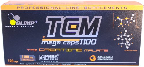 Olimp Creatine Tcm Mega Capsules - Pack of 120 Capsules