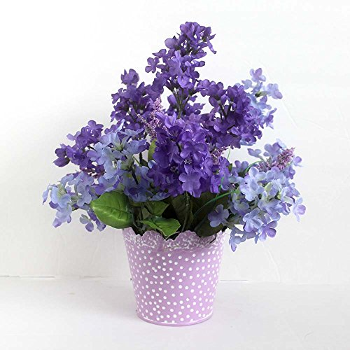 Spring Lilac Flower Arrangement