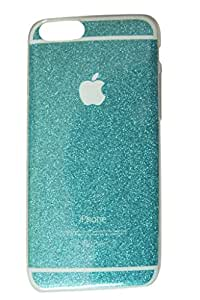 Danya Sparkling Back Cover For Apple Iphone 6 Plus & 6 Plus 6S - seagreen