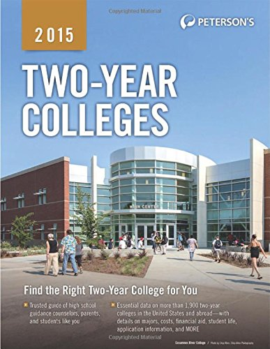 Two-Year Colleges 2015 (Peterson's Two Year Colleges)