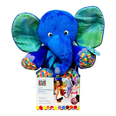 Eric Carle Children's Plush Animal Backpack Harness
