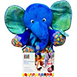 Eric Carle Backpack Harness, Elephant, Polyester, Elephant Backpack, Children's Backpack, Blue