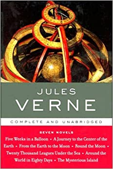 Jules Verne Seven Novels Library Of Essential Writers