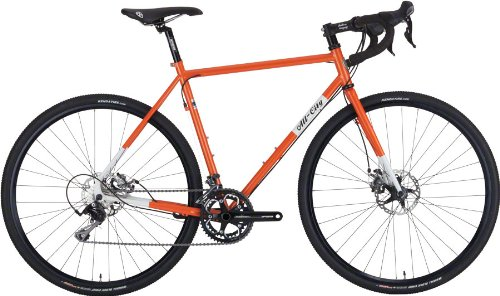 All-City Macho Man Disc Complete Bike 46cm Orange/White
