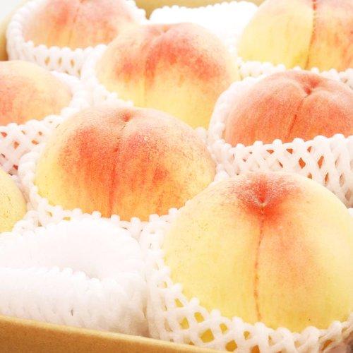 果物 ギフト 山梨県産 完熟 桃 厳選の品 1.5kg(4~5個) 糖度センサー 大玉 もも