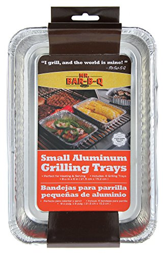 Mr Bar B Q 06692X Small Aluminum Grilling Pans (Small Grilling Pan compare prices)