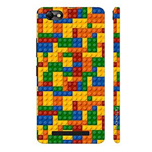 Enthopia Designer Hardshell Case Lego Mat Back Cover for Lenovo Vibe A2020