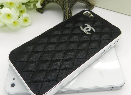 635a20d17129 Brand New Limited Edition Chanel Logo Negroid Leather Case for iPhone AT&T  4G