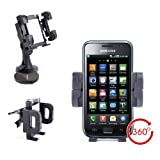 Sturdy Car Phone Holder & Mount For Samsung Galaxy S II, Galaxy Nexus, S5230 Tocco Lite & B2710 Solid Immerse