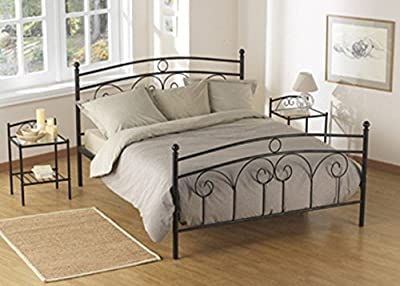 Tuscany Metal Bed Double & King