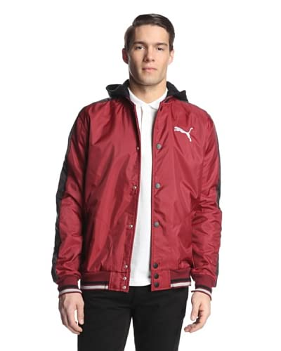 PUMA Men's Mixed Material Jacket