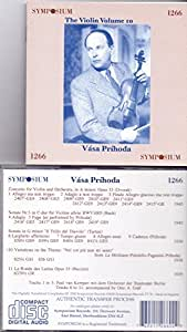 Vasa Prihoda Plays the Dvorak Violin Concerto