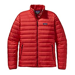 Patagonia Down Sweater Jacket - Men\'s French Red, L