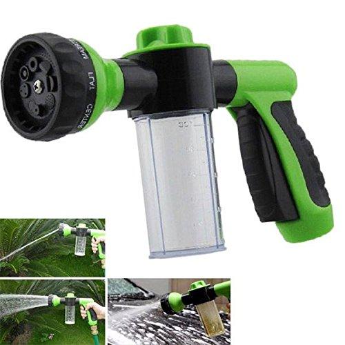 Bargain World Multifonction réglable mousse arrosage du jardin pulvérisateur moussant lavage de voiture outil de buse de pulvérisation