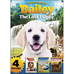 Adventures of Bailey: The Lost Puppy with 3 Bonus Features
