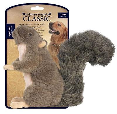 JPI American Classic Plush Dog Squeak Chew Toy
