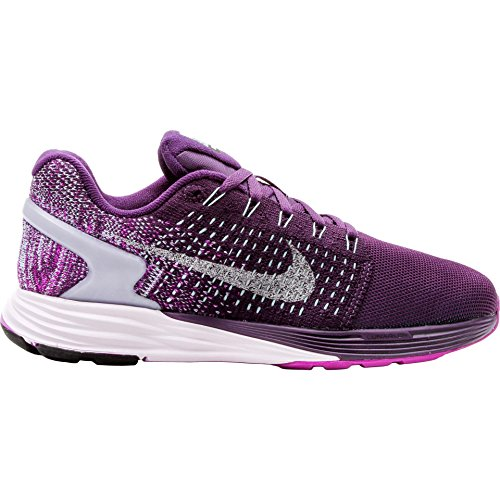 Women's Nike Lunarglide 7 Flash Running Shoes Purple 803567-500 (8.5)