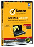 Norton Internet Security 3 Computers 1 Year Subscription Norton Utilities special edition import anglais