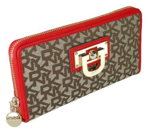 DKNY DKNY Wallet, Town & Country with Wintage Chino-Red