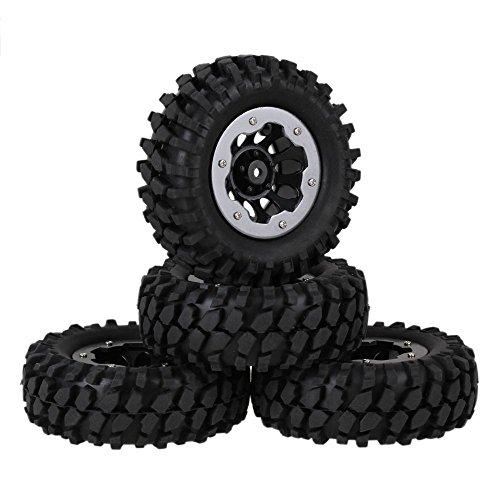 youzone-nero-ghiaia-pattern-pneumatici-in-gomma-e-plastica-nera-10-fori-del-cerchione-in-lega-di-tit
