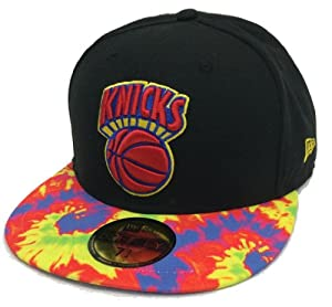 New Era 59Fifty Chroma Tense New York Knicks Black & Tie-Dye Fitted Cap by New Era